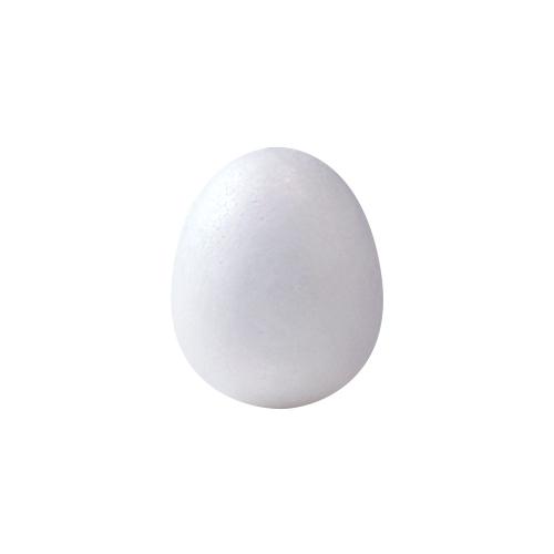 発泡スチロール タマゴ球 径40×48mm