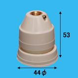 三ツ星 ホルダーソケット A‐15 E26 白
