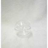 プラスチックBOX 球体 クリア 65mm