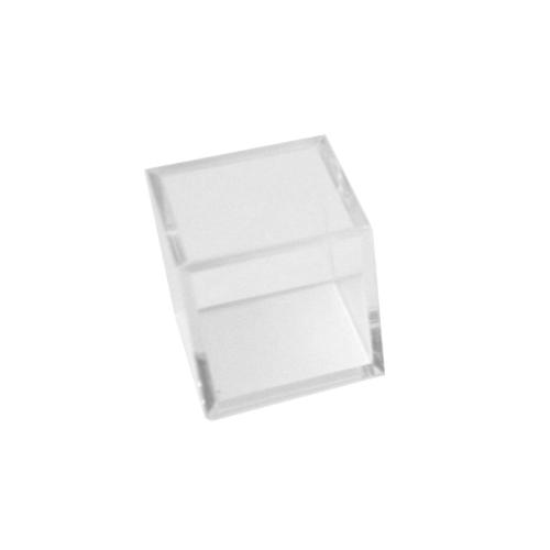 プラスチックキューブ 角 クリア 30mm