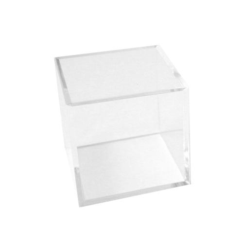 プラスチックキューブ 角 クリア 36×36×36mm│樹脂・プラスチック 樹脂ドーム・カプセル