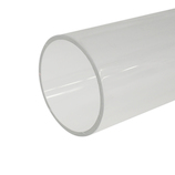 カンキ化工材 アクリルパイプ 10×1t×500│樹脂・プラスチック アクリルパイプ・棒材