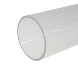 カンキ化工材 アクリルパイプ 40×2t×300│樹脂・プラスチック アクリルパイプ・棒材