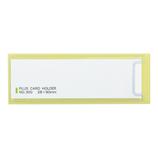 プラス(PLUS) カードホルダースティキット NO300 10枚入│インデックス・ラベル インデックスシール