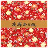 長谷川松壽堂 友禅おり紙 970 小 20枚│折り紙・和紙工芸 千代紙