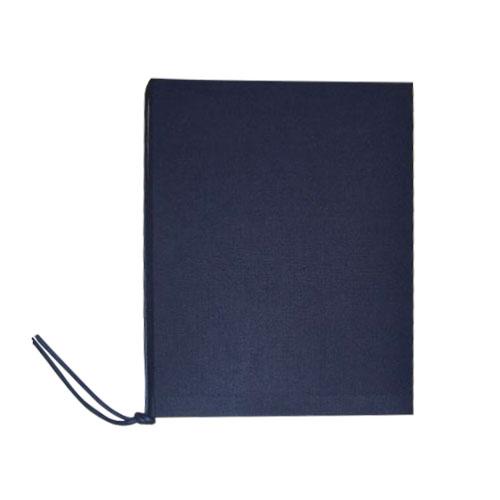 クロスメニューブック A5 MB-ネイビー│展示・ディスプレイ用品 メニューブック