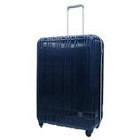 hands+ 軽量スーツケース ジップタイプ 81L ネイビー【メーカー直送品】お届け期間:約1週間~10日間