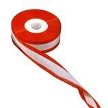 松本徽章 張り渡しテープ 耳赤リボン 24mm×30m
