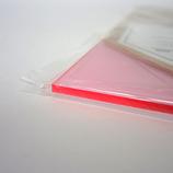 アクリル板 270×320×2mm 集光ピンク