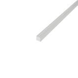 カンキ化工材 アクリル角棒 5×500mm クリア│樹脂・プラスチック アクリルパイプ・棒材