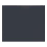 カナセライト アクリルキャスト板 270×320×2mm 黒│樹脂・プラスチック アクリル板