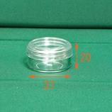 ドラムケース 透明キャップ 10g