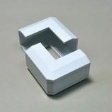 マサル ニューエフモール1号用出角 ホワイト│配線用品・電気材料 配線用モール