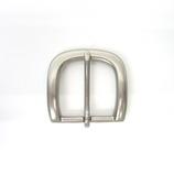 三井 3.5cm幅ベルト用オメガなしN色バックル(美錠) №2188C