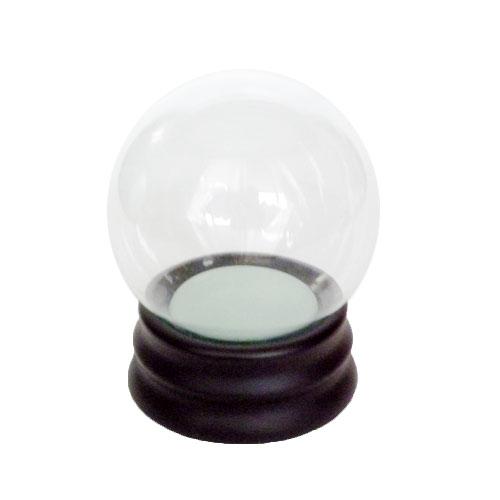 スノードーム自作キット L ガラス│工作用品 スノードームキット
