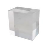 カンキ化工材 アクリルブロック 50×50×30mm クリア│樹脂・プラスチック アクリルブロック・球