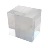 カンキ化工材 アクリルブロック 50×50×40mm クリア│樹脂・プラスチック アクリルブロック・球