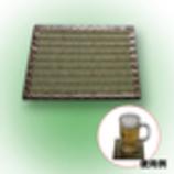 ビアジョッキ用い草コースタ− 11cm角