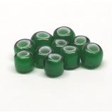RB インディアンビーズ7mm 緑10粒