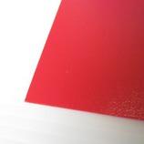ポリセーム 570×480×0.75mm アカ