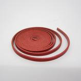 牛ティーボレース 赤 4mm巾 150cm1.6厚