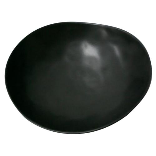 ベーシック まゆ型 中鉢 黒マット