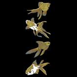 ほつま高蒔絵 金魚 舞 499
