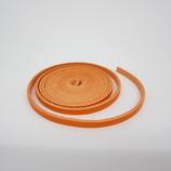 牛ティーボレース オレンジ 4mm巾 150cm1.6厚