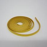 牛ティーボレース 黄 4mm巾 150cm1.6厚