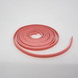 牛ティーボレース ピンク 4mm巾 150cm1.6厚