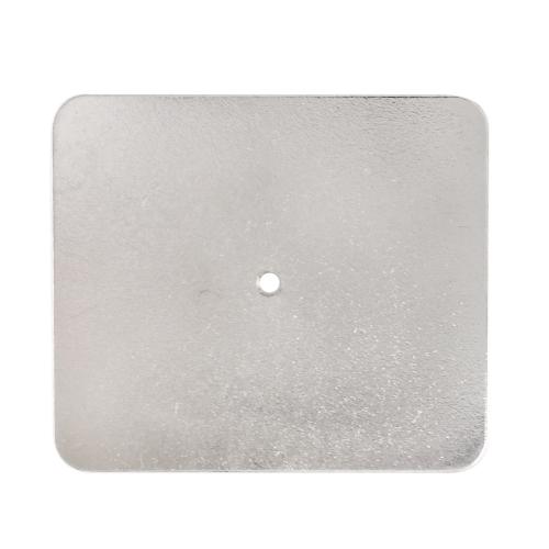 磁石吸着用鉄板 ニッケルメッキ 60×52×0.8