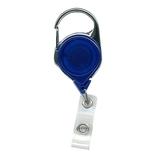 JAM カラビナリール 704TR 半透明ブルー│名札・カードホルダー ネックストラップ・リールクリップ