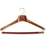 マイネッティ サルトリアーレハンガー ブラウン 43cm│ハンガー・衣類収納 樹脂製ハンガー
