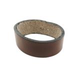 三井 牛革 4cm幅ベルト用サル革 チョコ