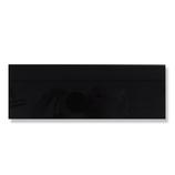 カンキ化工材 アクリルキャスト板 70×200×3mm 黒│樹脂・プラスチック アクリル板