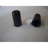 木棒用石突 黒 1個入│レインウェア・雨具 傘修理用品