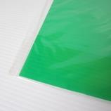 塩ビ板 360×670×0.4mm クリアグリーン