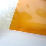塩ビ板 360×670×0.4mm クリアオレンジ