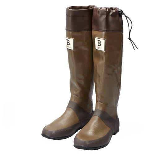 日本野鳥の会 バードウォッチング長靴 ブラウン L