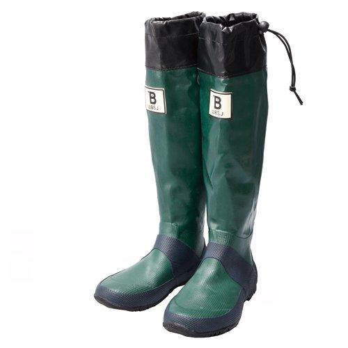 日本野鳥の会 バードウォッチング長靴 グリーン 3L