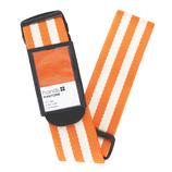 hands+ PANTONE スーツケースベルト ストライプオレンジ