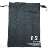 hands+ トラベル巾着 8.5L ブラック