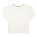 hands+ tabigi トラベルTシャツ8分袖 レディースL ホワイト