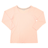 hands+ tabigi トラベルTシャツ8分袖 レディースL ピンク