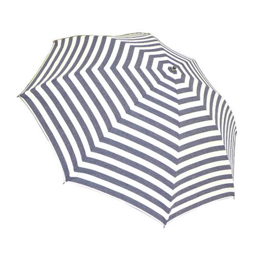 hands+ 15 岡山デニム 折りたたみ傘 55cm ボーダー│hands+ウェザー hands+ 折り畳み傘