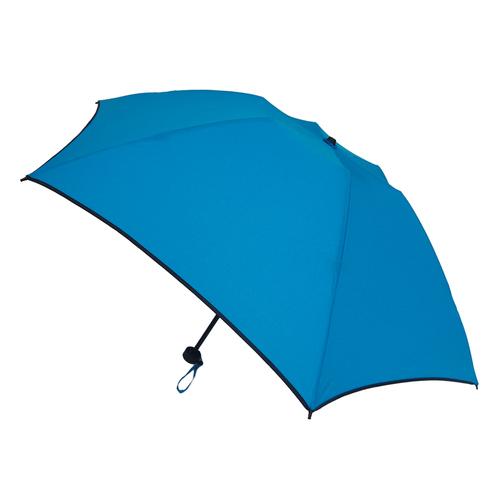 hands+ 15 新簡単開閉折りたたみ傘 50cm ブライトブルー
