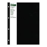 HANDS ORIGINAL ハンズオリジナル リングアルバム 替え台紙 A4 ブラック