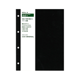 HANDS ORIGINAL ハンズオリジナル リングアルバム 替え台紙 M ブラック
