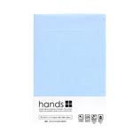 hands+ ボックスシーツ シングル スカイブルー