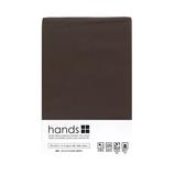 hands+ ボックスシーツ シングル ブラウン
